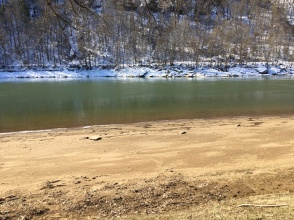 Allegheny River, Brady's Bend