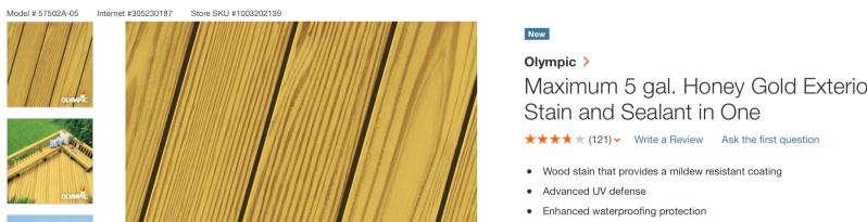 Olympic Max Honey Gold